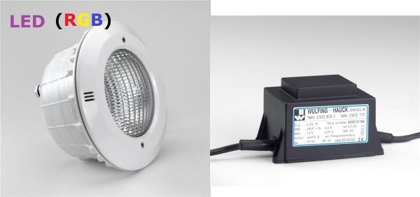 Pool Scheinwerfer: LED RGB (bunt)